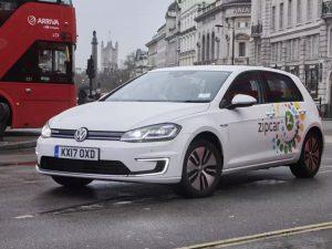 【話題・海外】カーシェアリングのZipcar、電気自動車300台をロンドンに投入