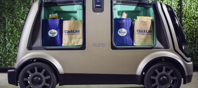 【話題・自動運転】無人運転バンで食品をお届け–自動運転スタートアップNuroが2018年中にテストへ