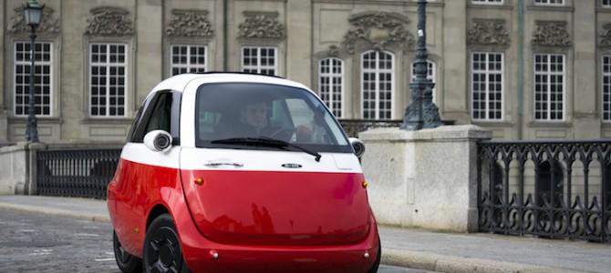 【超小型EV・話題・新製品】前から乗り降りできる電気自動車「Microlino」、いよいよ生産開始