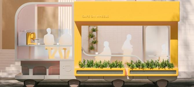 【話題・自動運転】IKEAがデザインすると「自動運転車」はこうなる