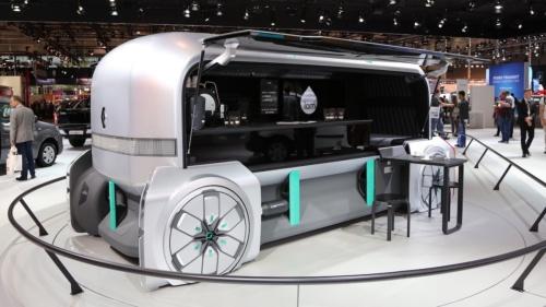 【話題・自動運転】「稼げる」自動運転EV、ルノーが2種類の商用コンセプト