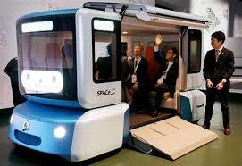 【話題・自動運転】自動運転EVのコンセプトカー パナが東京で100周年記念展示会