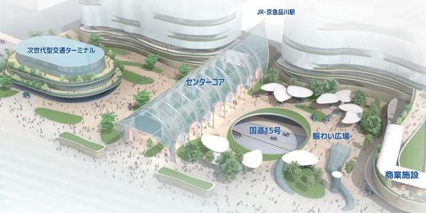 【話題】品川駅西口はこう変わる! 不確定要素は「地下鉄」 国道上の次世代ターミナル整備