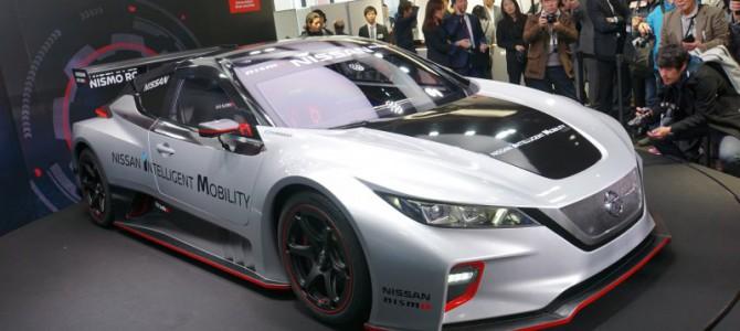【話題】日産リーフNISMO RCに新型が登場。電気自動車のパワーと興奮をアピール!
