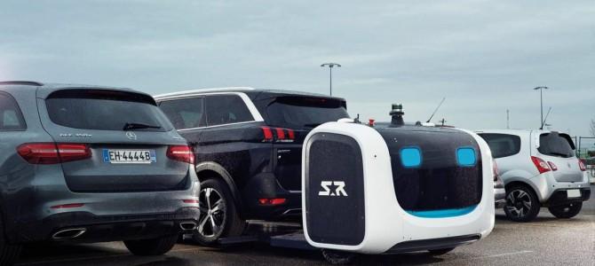 【話題】英空港が駐車ロボットを試験導入、収容台数1.2倍に