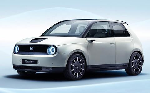 【話題】ホンダ、後輪駆動EV「Honda e(ホンダ イー)」プロトタイプ