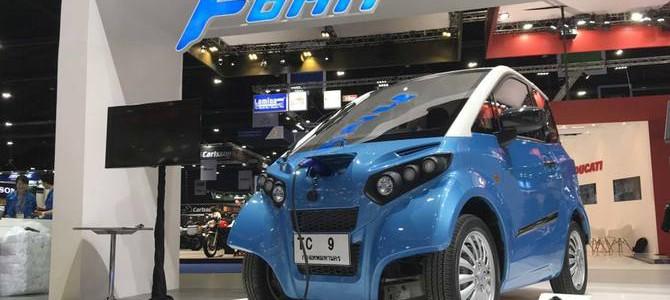【話題・超小型EV】川崎ベンチャーが開発した超小型EVが「タイの国民車」になる日