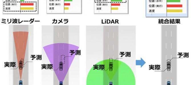 【新技術・自動運転】土砂降りでも走れる自動運転、三菱電機が可能に