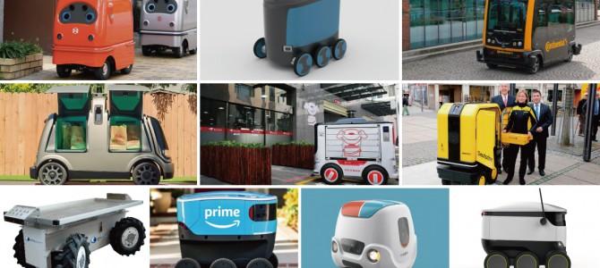 【話題・自動運転】ラストワンマイル向けの物流・配送ロボット10選