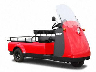 【話題・超小型EV】災害現場初期対応に3輪電気自動車 東京消防庁が採用 富山・光岡自動車