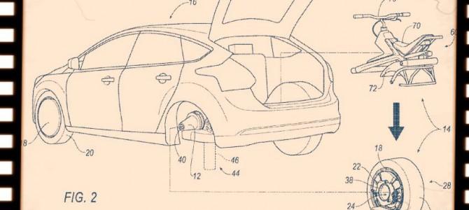 【話題】「車輪が外れて電動一輪になる自動車、フォードが特許取得」