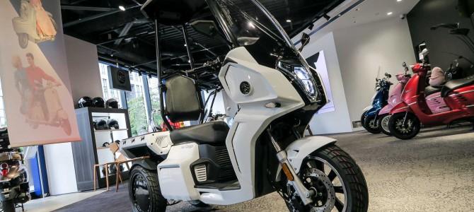 【話題・超小型EV】3輪電動スクーター『AAカーゴ』を発売した『アイデア』ってどんな会社?