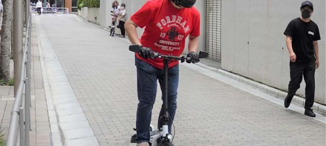 【話題・超小型EV】乗り味は筋斗雲!? 公道走行可能な電動スクーター「X-SCOOTER LOM」レビュー
