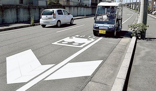 【話題・自動運転】低速自動運転実験2年目 ヤマハ発動機と磐田市、交通影響を検証