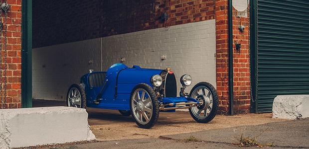 【話題】Bugatti、89年前の子ども向け電気自動車「Baby」を現代に蘇らせる