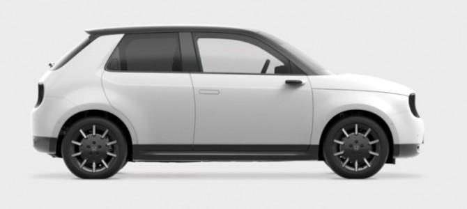【新製品】ホンダが新型EV「ホンダe」の情報を先行公開 2020年8月に日本での販売を開始