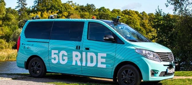 【自動運転・海外】エリクソン、ストックホルムで5G対応の自動運転ミニバスをテスト運行