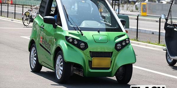 【話題・新製品】水中でも動く電気自動車「FOMM ONE」250万円で年内発売