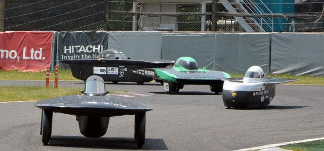 【話題】最後のソーラーカーレース 鈴鹿サーキットで開幕