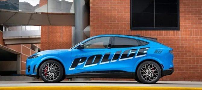 【話題】フォードの電気SUV「マスタング Mach-E」 米警察車両としての性能評価に合格