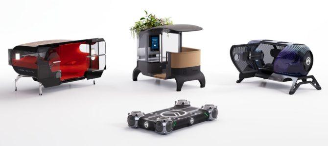 【話題・次世代モビリティ】シトロエン、3種類のコンセプトカー提案…用途に合わせて車体を載せ替え